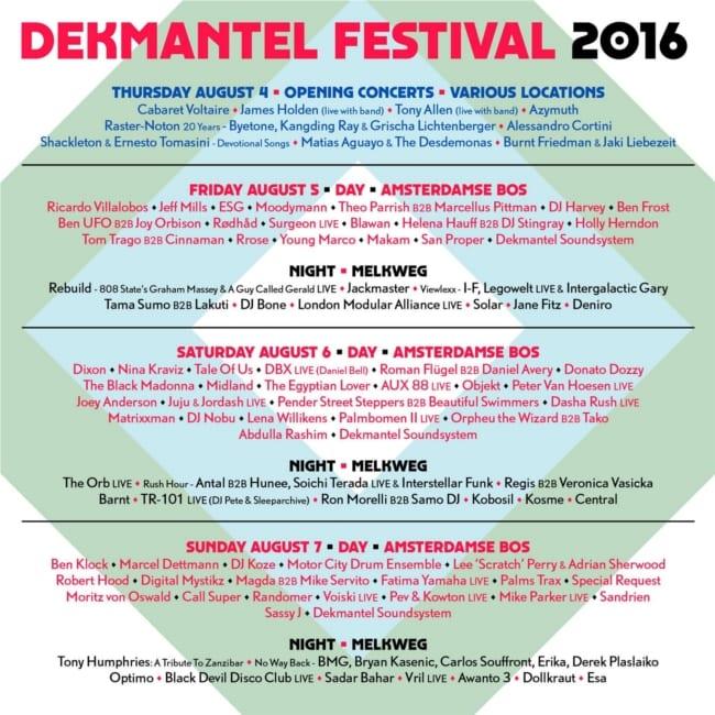 dekmantel-poster