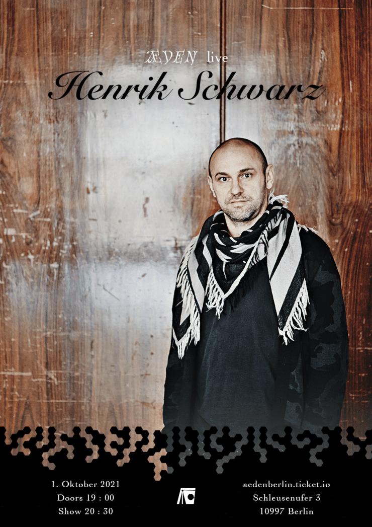 Æden Live Henrik Schwarz Ticket