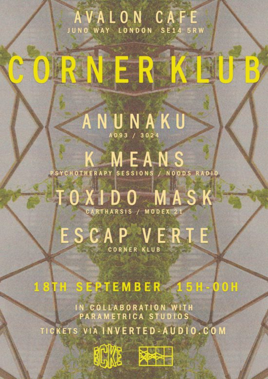 Corner Klub Poster