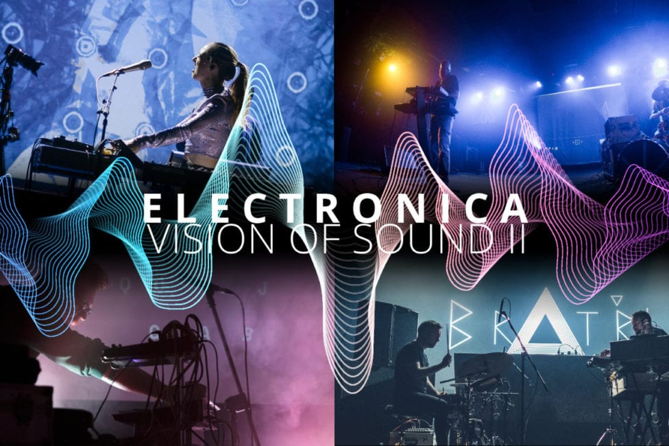 Electronica, Main Image With Text