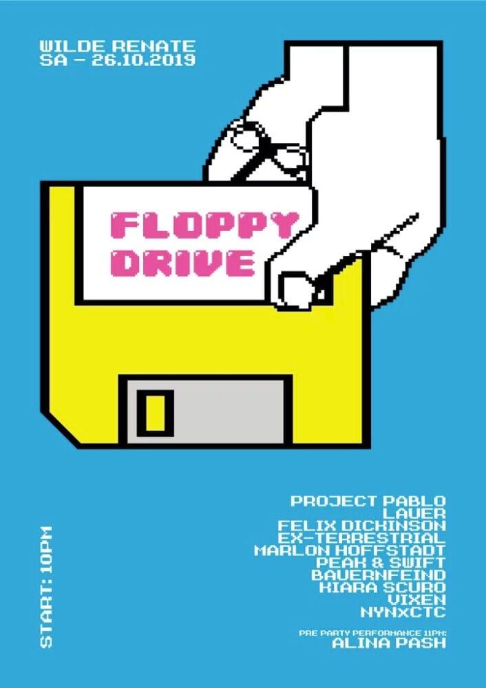 Floppy Drive Pablo