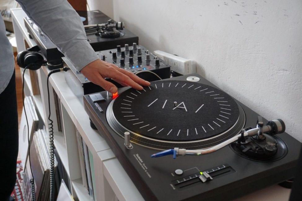 Inverted Audio Slipmat